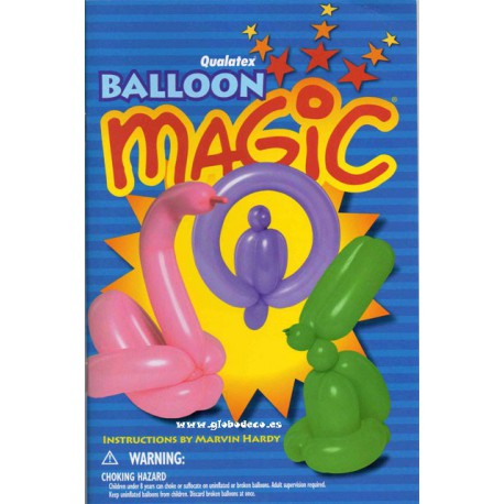 Libro Balloon Magic Marvin Hardy
