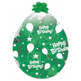 "GLOBOS DE LATEX STUFFING 18"" HAPPY BIRTHDAY"