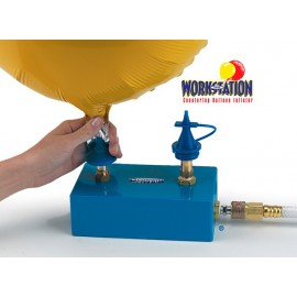 The Workstation countertop Balloon Inflator Conwin