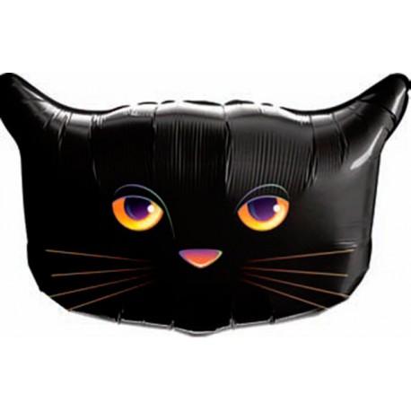"""Globos de foil de 26"""" Gato Negro Qualatex"""