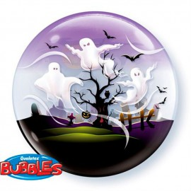 "Globos de foil de 22"" Bubbles Fantasmas Espeluznantes"
