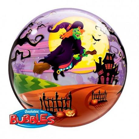 """Globos de foil de 22"""" Bubbles Bruja Piruja"""