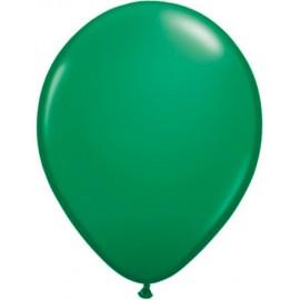 """Globos Redondos de 16"""" (41Cm) Standard Verde Qualatex"""