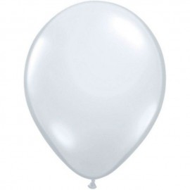 "Globos Redondos de 16"" (41Cm) Diamond Clear Qualatex"