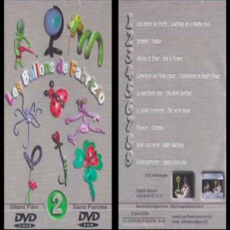 DVD Los Globos de Fabrizio Vol 2