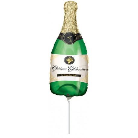 """Globos de foil Mini de 16"""" X 8"""" (40cm x 20cm) Celebración Champagne"""