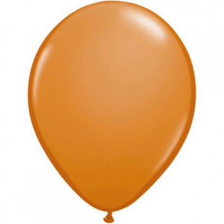 "Globos Redondos de 16"" (41Cm) Mocha Brown Qualatex"