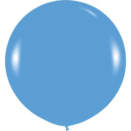 GLOBOS 3FT (100cm) FASHION SOLIDO AZUL