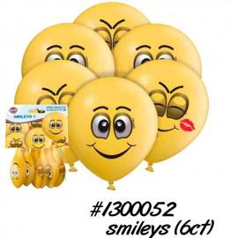 Globos R-12 (30Cm) Smileys