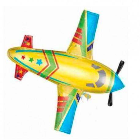 Globos de foil de 75cm x 85cm Aeroplano