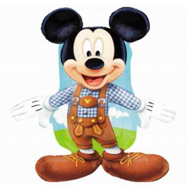 Globos de foil supershape de 70Cm x 50Cm Mickey