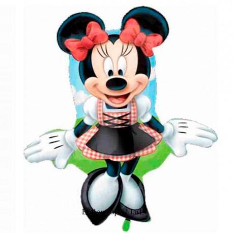 Globos de foil supershape de 70Cm x 50Cm Minnie