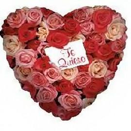 """Globos de foil de 9"""" Te Quiero Rosas"""