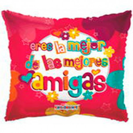 "Globos de foil de 9"" Mejor Amiga"