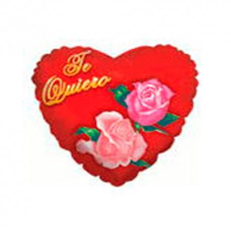"""Globos de foil de 4""""/10cm Te Quiero Rosas"""