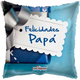 "Globos de foil de 18"" (46Cm) Felicidades Papa"