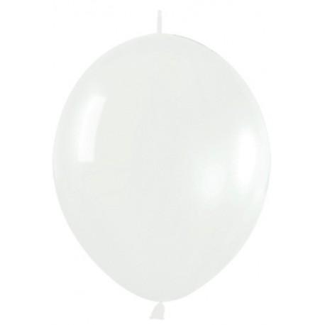 "Globos 12"" LINK O LOON Crystal Transparente"