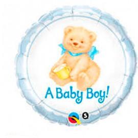 "Globos de foil de 18"" Osito Baby Boy"