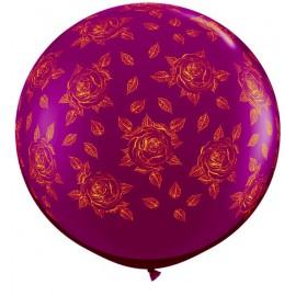 Globos gigantes de 3FT Rosas elegantes