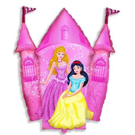 Globos de foil supershape Princesas en Palacio