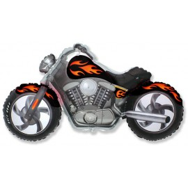 Globos de foil Supershape Moto Custom Negra
