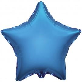 "Globos de foil Estrellas 32"" Azul"