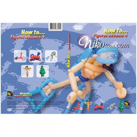 DVD How to... Figures Advance 4 Nikoloon