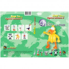 DVD How to... Figures Advance 5 Nikoloon