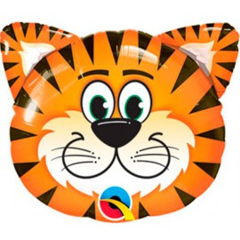 "Globos de foil Minishape 14"" (36Cm) Tigre Qualatex"
