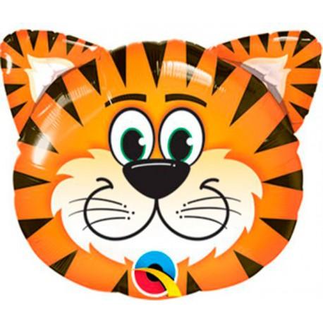 "Globos de foil Minishape 14"" (36Cm) Tigre Qualatex"