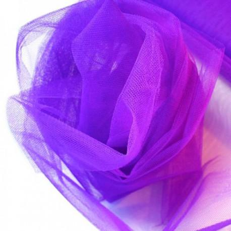Tulle 30cm x 20m color Violeta
