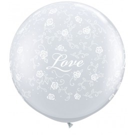 Globos gigantes de 3FT Love
