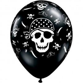 """Globos de 11"""" Piratas del estrecho"""