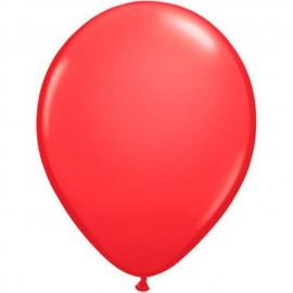 """Globos Redondos de 16"""" (41Cm) Standard Rojo Qualatex"""