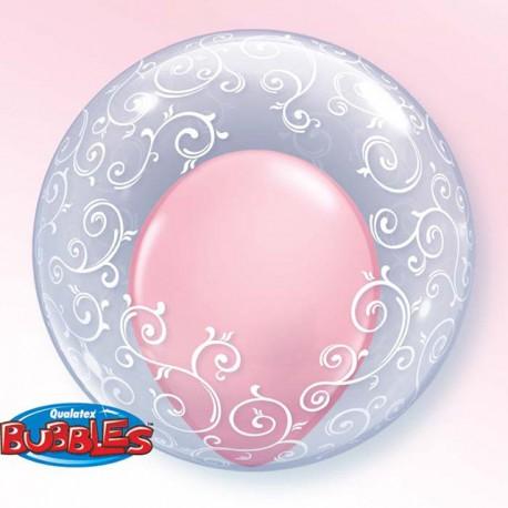"""Globos de foil de 24"""" Bubbles Filigranas Divertidas"""