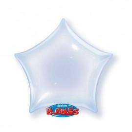 """Globos de foil de 22"""" Bubbles Deco Star"""