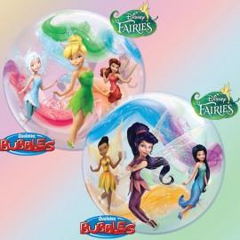 "Globos de foil de 22"" Bubbles Hadas Disney"