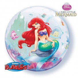 "Globos de 22"" Bubbles SIRENITA Disney"