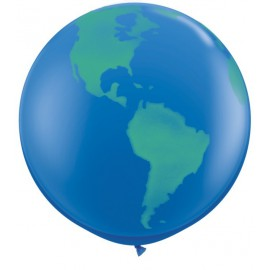Globos gigantes de 3FT Globo Azul