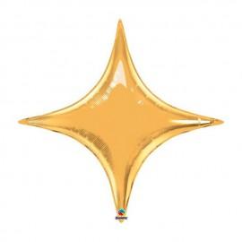 "Globos de foil STARPOINT 20"" ORO Qualatex"