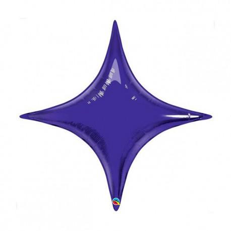 "Globos de foil STARPOINT 20"" Quartz Purple Qualatex"
