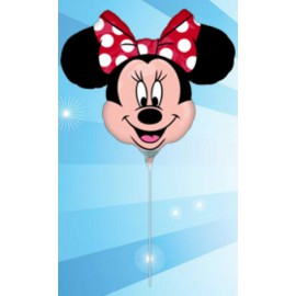 Globos de foil Minnie Lunares mini