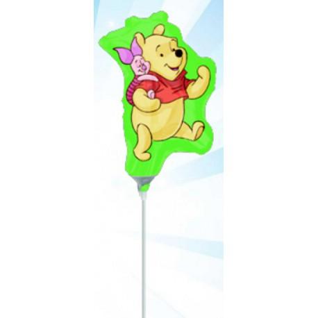 Globos de foil Mini Pooh y Piglet 2