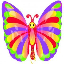 Globos de foil supershape Mariposa Elegante
