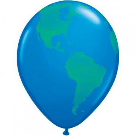 """Globos de 11"""" Mundo Mundial"""
