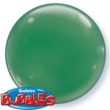 """Globos de foil de 15"""" (38Cm) Bubbles Deco Verde"""