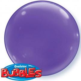 """Globos de foil de 15"""" (38Cm) Bubbles Deco Violeta"""