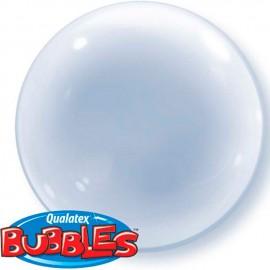 """Globos de foil de 15"""" (38Cm) Bubbles Deco Transparente"""