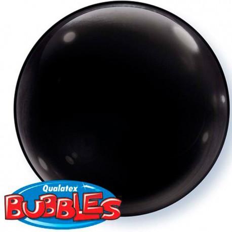 """Globos de foil de 15"""" (38Cm) Bubbles Deco NEGRO"""