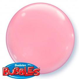 """Globos de foil de 15"""" (38Cm) Bubbles Deco Rosa"""